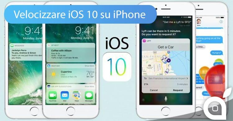 Come velocizzare iOS 10 sugli iPhone più datati | Guida