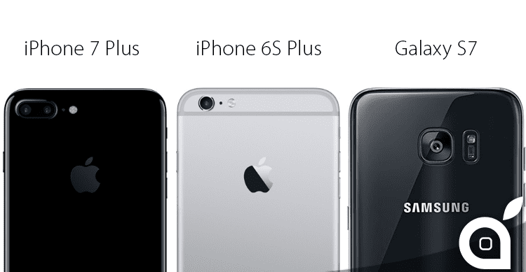 Fotocamere a confronto: iPhone 7 Plus vs. iPhone 6S Plus vs. Galaxy S7