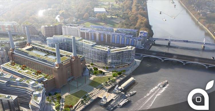 Un nuovo campus Apple a Londra aprirà nel 2021