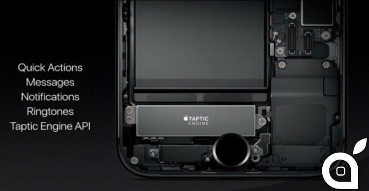 Il tasto Home degli iPhone 7 è programmabile e potrà essere sfruttato dagli sviluppatori