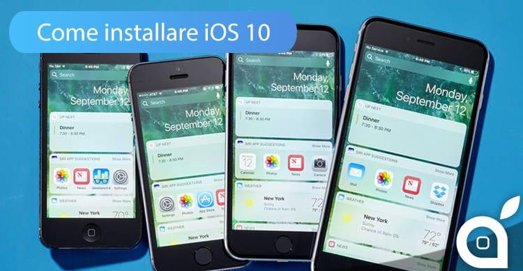 VIDEOGUIDA iSpazio: Come installare iOS 10 su iPhone ed iPad