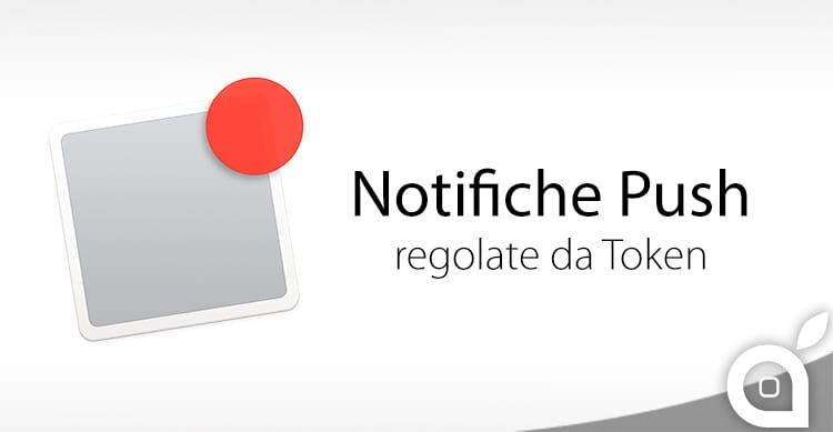 Apple semplifica le Notifiche Push con l'introduzione dei Token Autenticati al posto dei Certificati