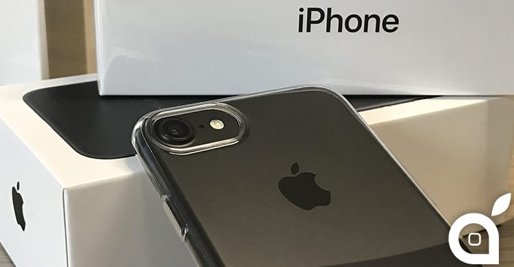 custodia iphone 7 vetro temperato