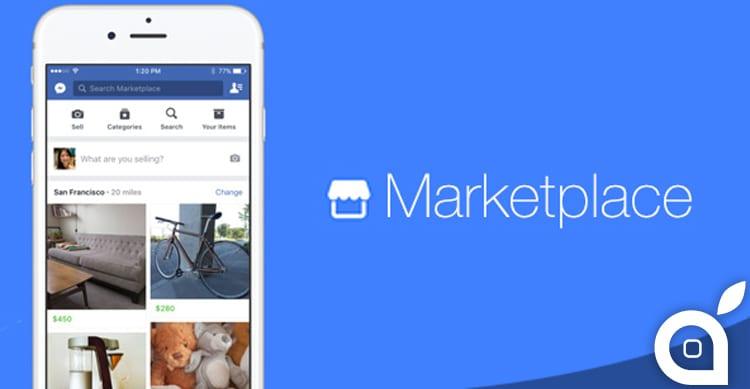 Facebook Marketplace sarà la nuova funzione di compravendita del famoso social network