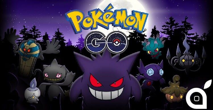 Pokèmon Go: arriva il primo evento in-app dedicato ad Halloween! [Video]