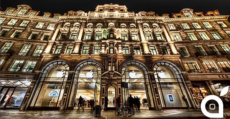 L'Apple Store di Regent Street riaprirà i battenti il 15 Ottobre mostrando il suo nuovo design rinnovato