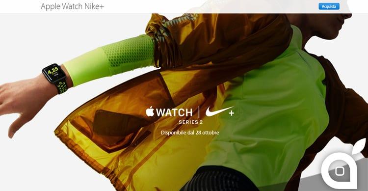 Ufficiale: L' Apple Watch Nike+ sarà disponibile dal 28 Ottobre