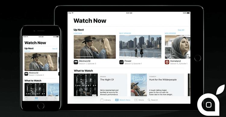Apple presenta tv la nuova applicazione che cambia il for Guardare la tv