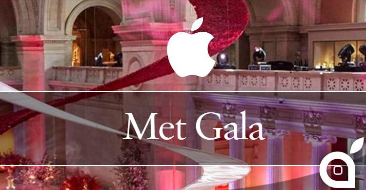 Apple e il mondo della moda: al Met Gala per il secondo anno consecutivo