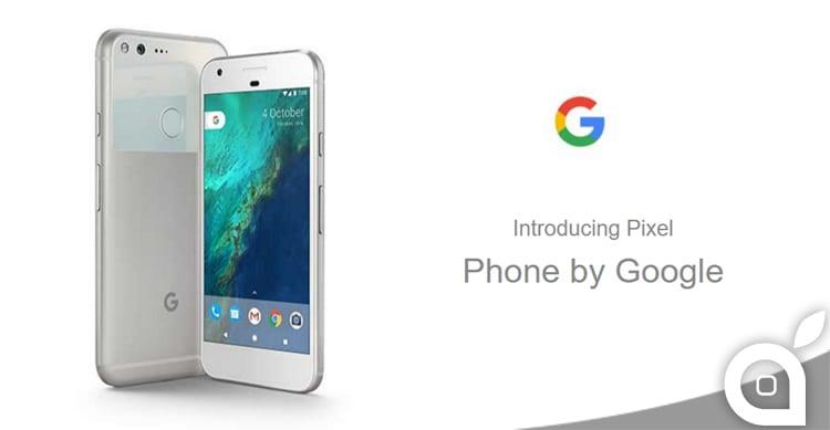 Google Pixel e Pixel XL: svelate le caratteristiche tecniche e confermato il design