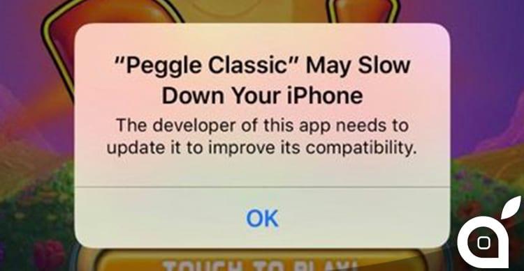 Su iOS 10.1 ritorna l'avviso sulle applicazioni che potrebbero rallentare il nostro iPhone