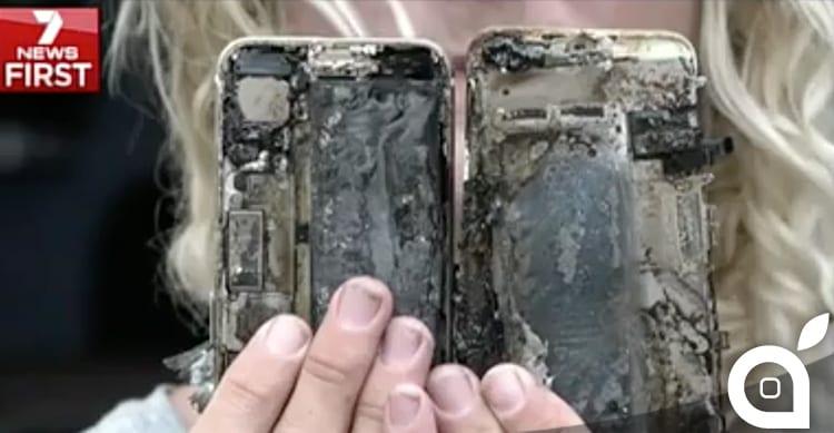 Un iPhone 7 prende fuoco: Apple avvia un'indagine