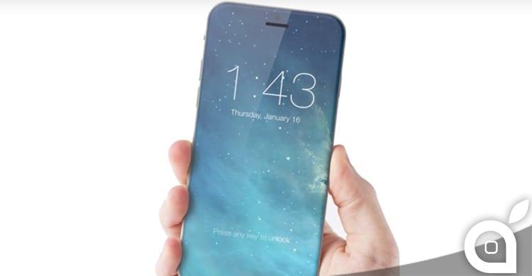 iPhone 8 potrebbe essere un blocco unico, senza alcuna porta esterna