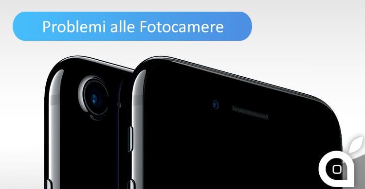 Alcuni iPhone 7 e 7 Plus presentano problemi alla fotocamera
