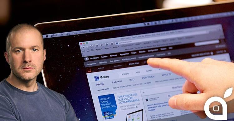 """Jony Ive ha detto """"no"""" al touchscreen sui Mac, ma qualcosa di nuovo bolle in pentola"""