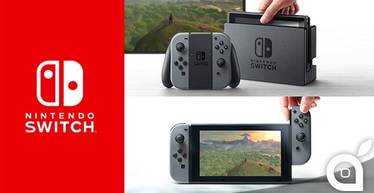 Nintendo Switch: svelata la nuova console geniale, con la quale si può giocare sia in casa che in mobilità! [Video]