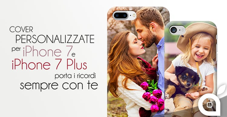 Cover per iPhone 7 ed iPhone 7 Plus con stampa personalizzata su Personalizzalo.it
