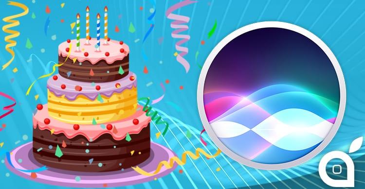Buon 5° compleanno, Siri!