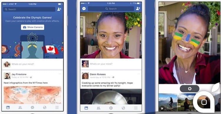 Facebook escogita nuovi sistemi per farci condividere più foto, video e dirette