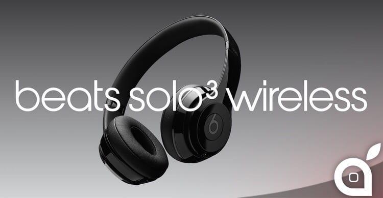 Apple pubblica un nuovo spot per pubblicizzare le Beats Solo 3 Wireless [Video]