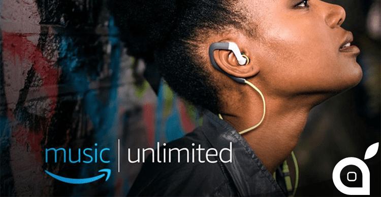 Amazon Music Unlimited arriva anche in Europa, a partire da 3,99€ al mese