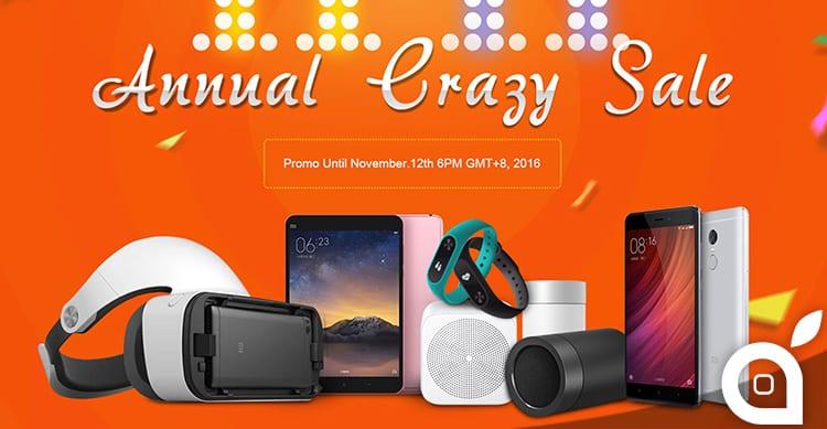 I prodotti Xiaomi ad un prezzo folle, ogni giorno alle 11:00 su GeekBuying, fino all'11 Novembre!