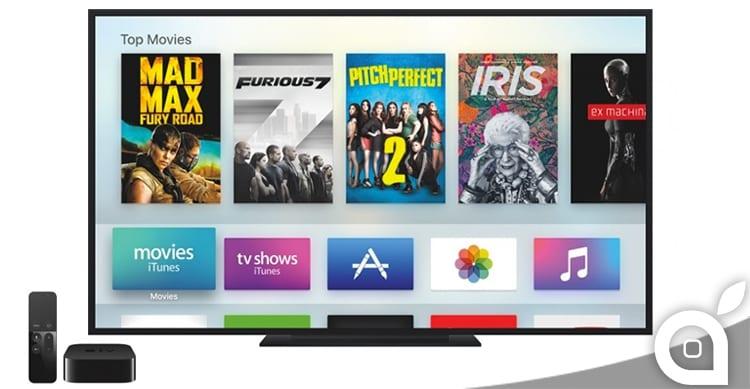 Apple rilascia tvOS 10.1 beta 4 per tutti gli sviluppatori