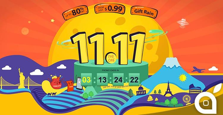 11.11: anche su GearBest migliaia di prodotti in Offerta Lampo per questa giornata speciale di shopping