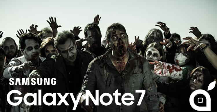 Da Samsung esplosivo a device Zombie, il Galaxy Note 7 potrebbe ritornare nel 2017