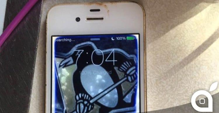 Un uomo ha recuperato un iPhone 4 funzionante dal fondo di un lago