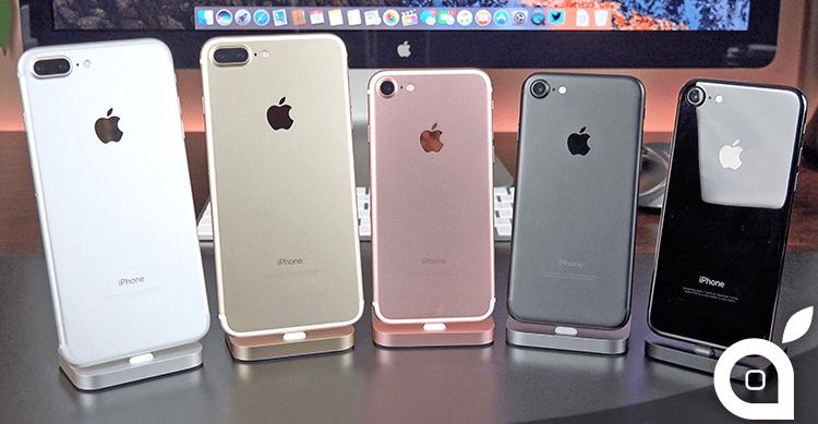 iPhone 7: ecco le versioni i modelli ed i colori più scelti dagli italiani