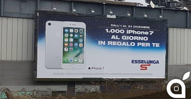 Mille iPhone 7 al giorno: Esselunga lancia la campagna di Natale