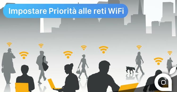 Ecco come impostare la priorità delle reti WiFi da utilizzare su iPhone servendosi di un Mac