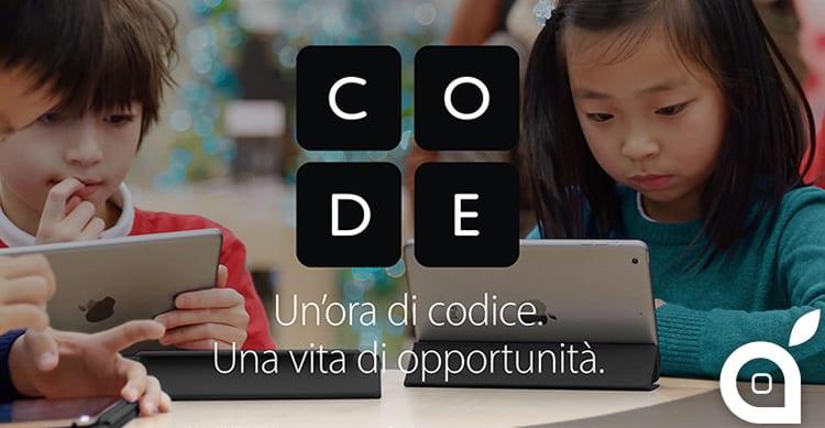 """Ritorna """"L'Ora del Codice"""": i Workshop gratuiti in tutti gli Apple Store dal 5 all'11 Dicembre"""