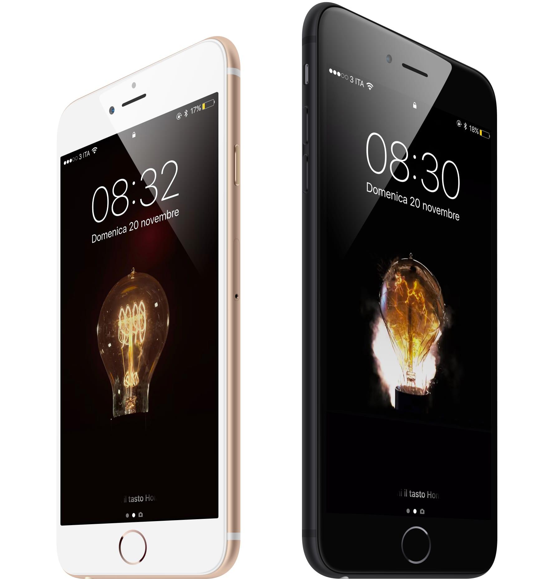 #WallpaperSelection #113: Ecco Bulb gli Sfondi ispirati al MacBook Pro per tutti gli iPhone