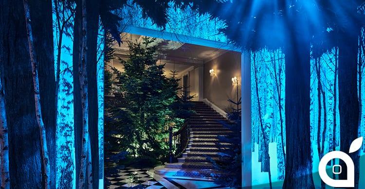 Ecco le decorazioni di Natale di Jony Ive presso il Claridges Hotel di Londra