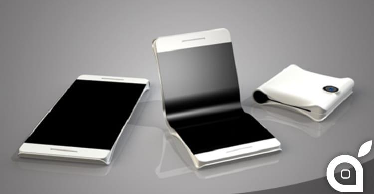 Apple brevetta l'iPhone pieghevole