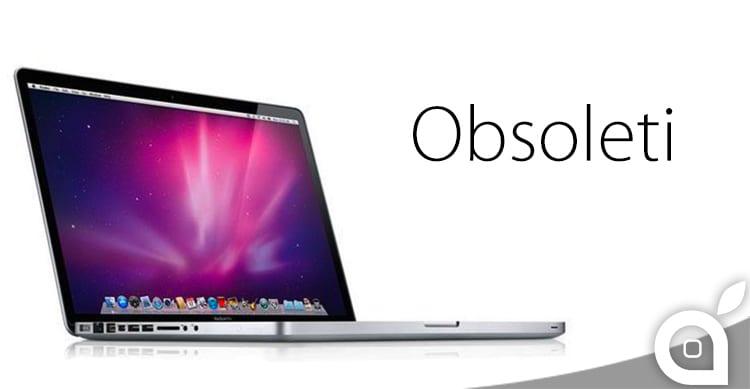 """Alcuni MacBook Pro, MacBook e Mac Mini diventeranno """"obsoleti"""" il prossimo mese"""