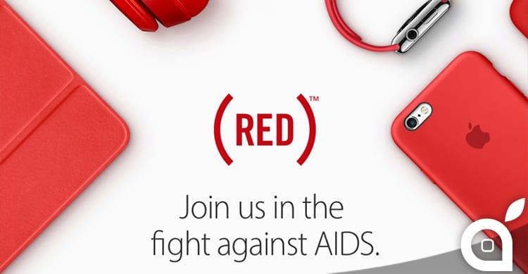 Apple aderisce alla campagna (RED) per la lotta contro l'AIDS