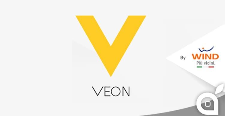"""Wind regala 1GB e 100MB al giorno con la nuova app """"Veon by Wind""""!"""