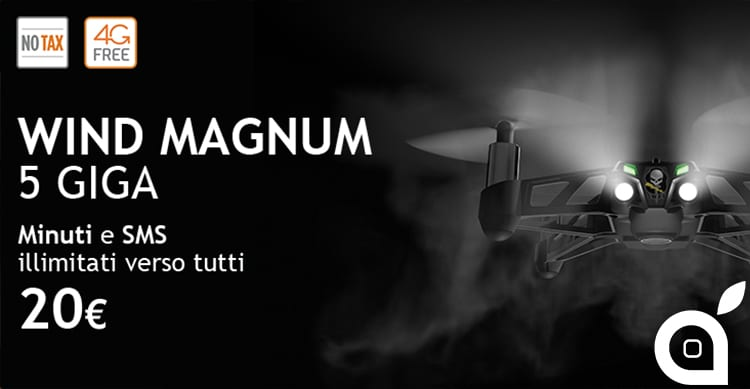 "Wind mette in offerta la ""Wind Magnum"" fino all'8 Gennaio"