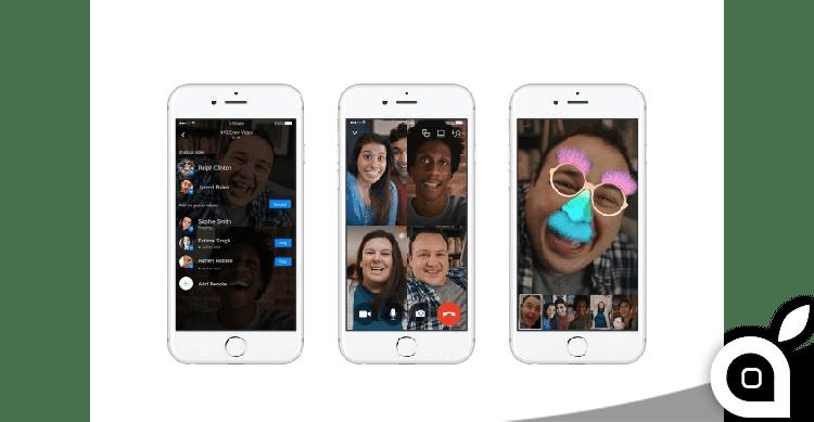 Facebook Messenger attiva le videochiamate di gruppo. Le abbiamo provate per voi!