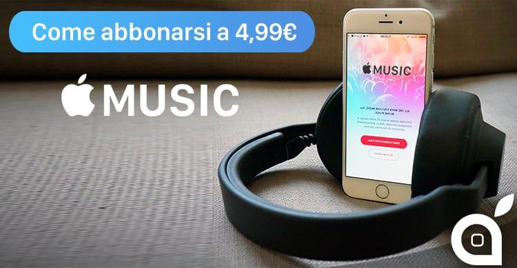 Apple Music a soli 4,99€ per gli studenti: Ecco come attivare questo tipo di abbonamento [Video]