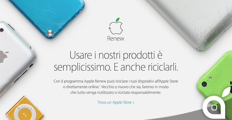apple-renew-riciclo