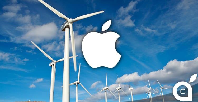 Apple e il progetto di energia pulita: stretta una partnership con il più grande  produttore di turbine eoliche