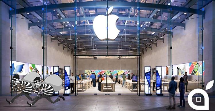Furti lampo in un Apple Store in California: ecco il video che rivela quanto accaduto!