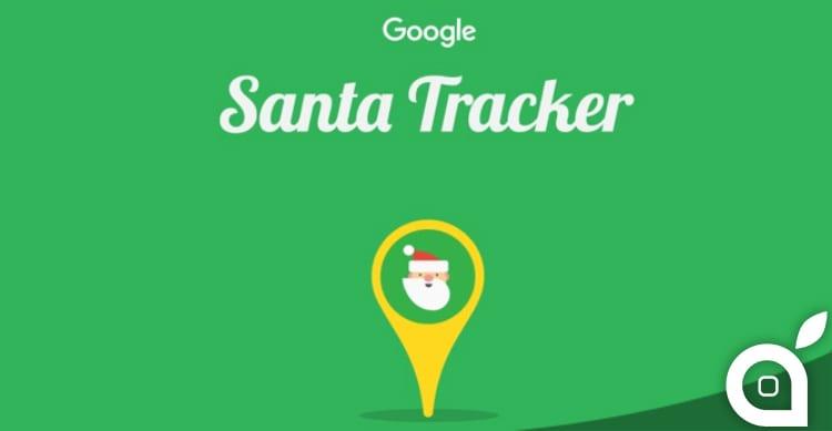 """Seguite Babbo Natale con il """"Santa Tracker"""" di Google, ora online! [Video]"""