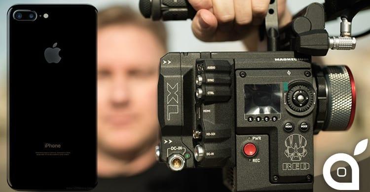 La fotocamera dell'iPhone 7 Plus viene paragonata ad una videocamera professionale da 50.000$ [Video]