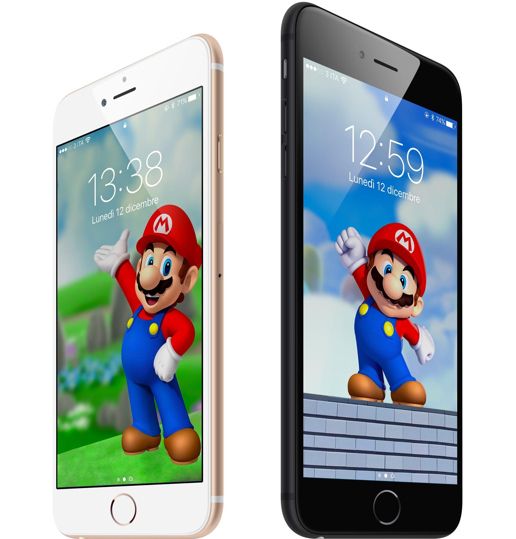 #WallpaperSelection #114: Ecco gli sfondi di Super Mario realizzati da iSpazio, da scaricare sui vostri iPhone