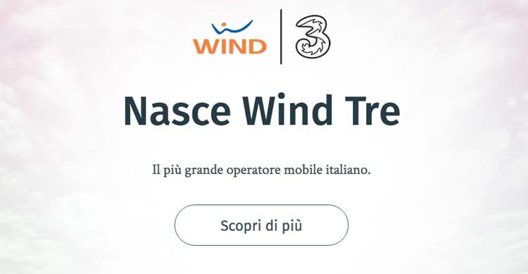 Nasce finalmente Wind Tre, il primo operatore mobile italiano!